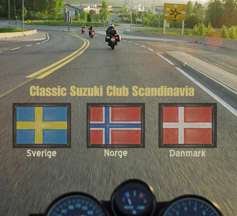 Welcome to Classic Suzuki Club Scandinavia